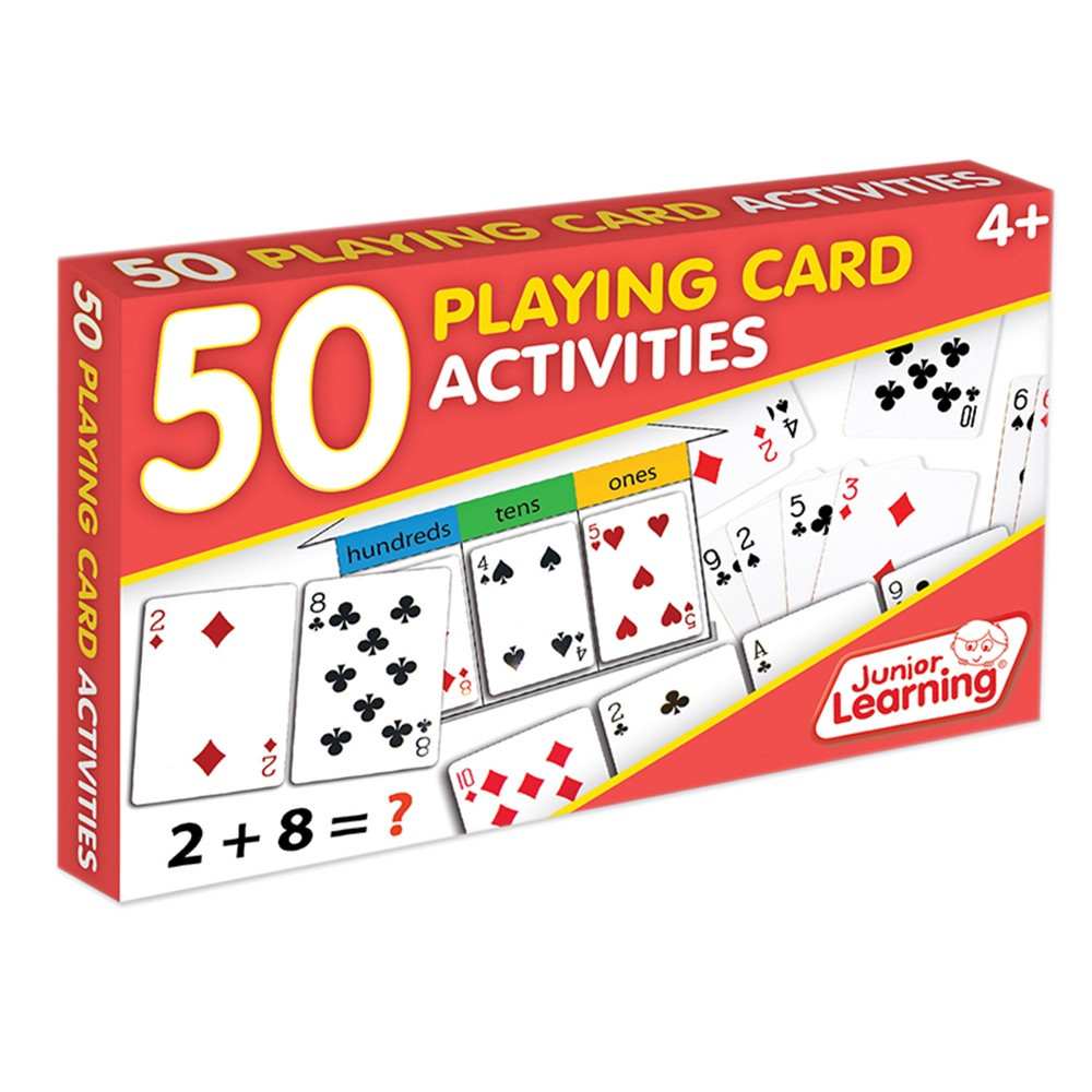 JRL341 - 50 Playing Cards Activities in Card Games