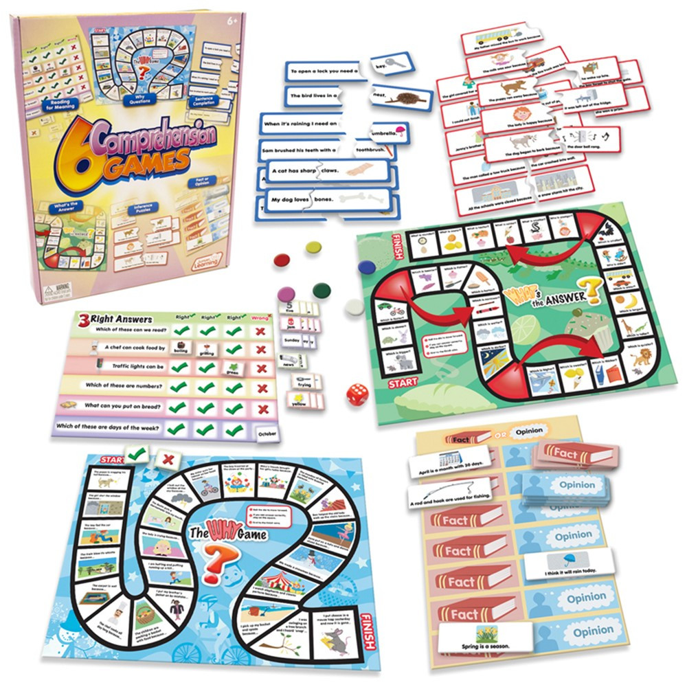 JRL406 - 6 Comprehension Games in Comprehension