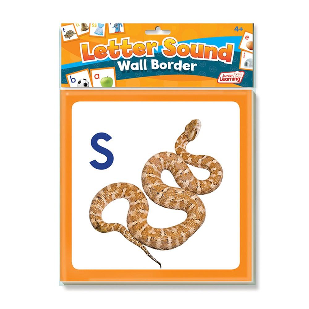 JRL461 - Wall Borders Letter Sounds in Border/trimmer
