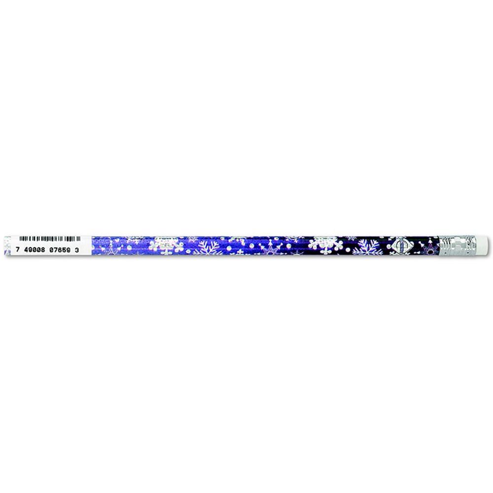 JRM7659B - Pencils Snowflakes Glitz Asst 12/Pk in Pencils & Accessories