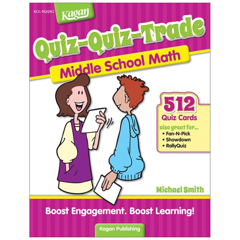 KA-BQQMM2 - Quiz-Quiz-Trade Math Lv 2 Middle School in Activity Books