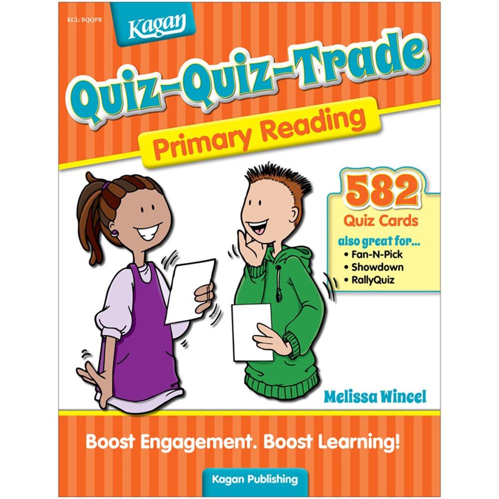 KA-BQQPR - Quiz-Quiz Trade Reading Gr K-2 in Activities