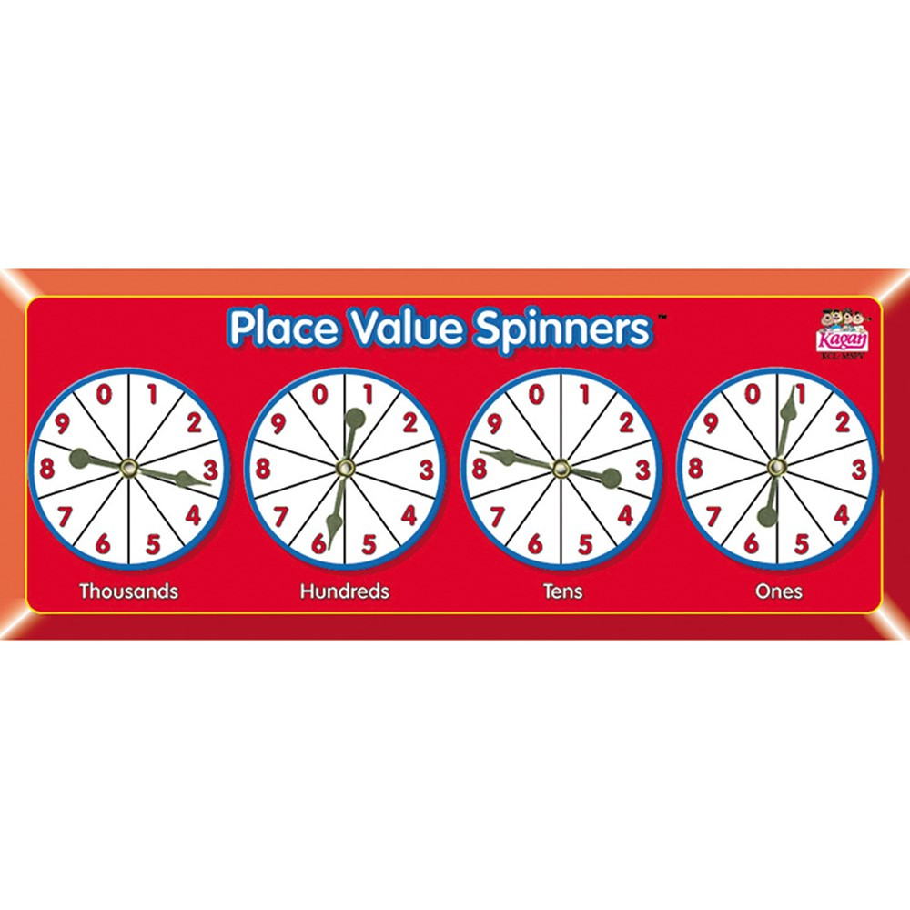 KA-MSPV - Place Value Spinners in Place Value