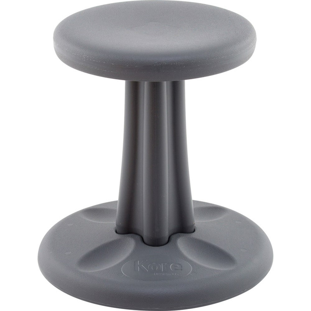 Strange Kids Kore Dark Grey 14In Wobble Chair Gmtry Best Dining Table And Chair Ideas Images Gmtryco