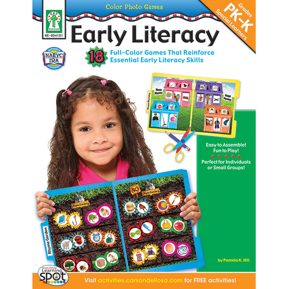 KE-804101 - Color Photo Games Early Literacy in Language Arts