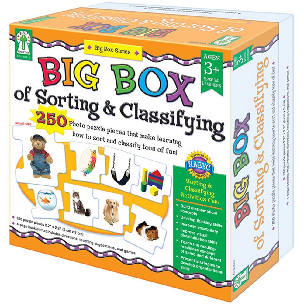 KE-840010 - Big Box Of Sorting & Classifying Game Age 3+ Special Education in Games