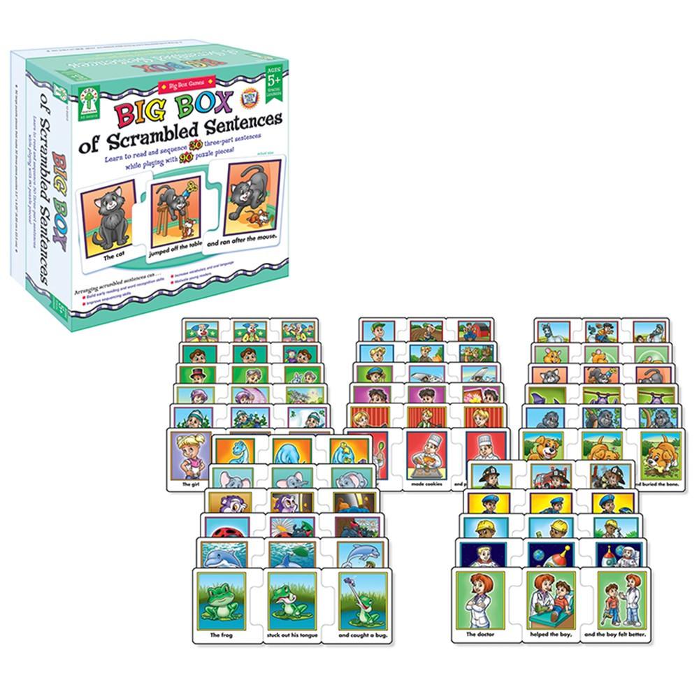 KE-840018 - Big Box Of Scrambled Sentences in Activities