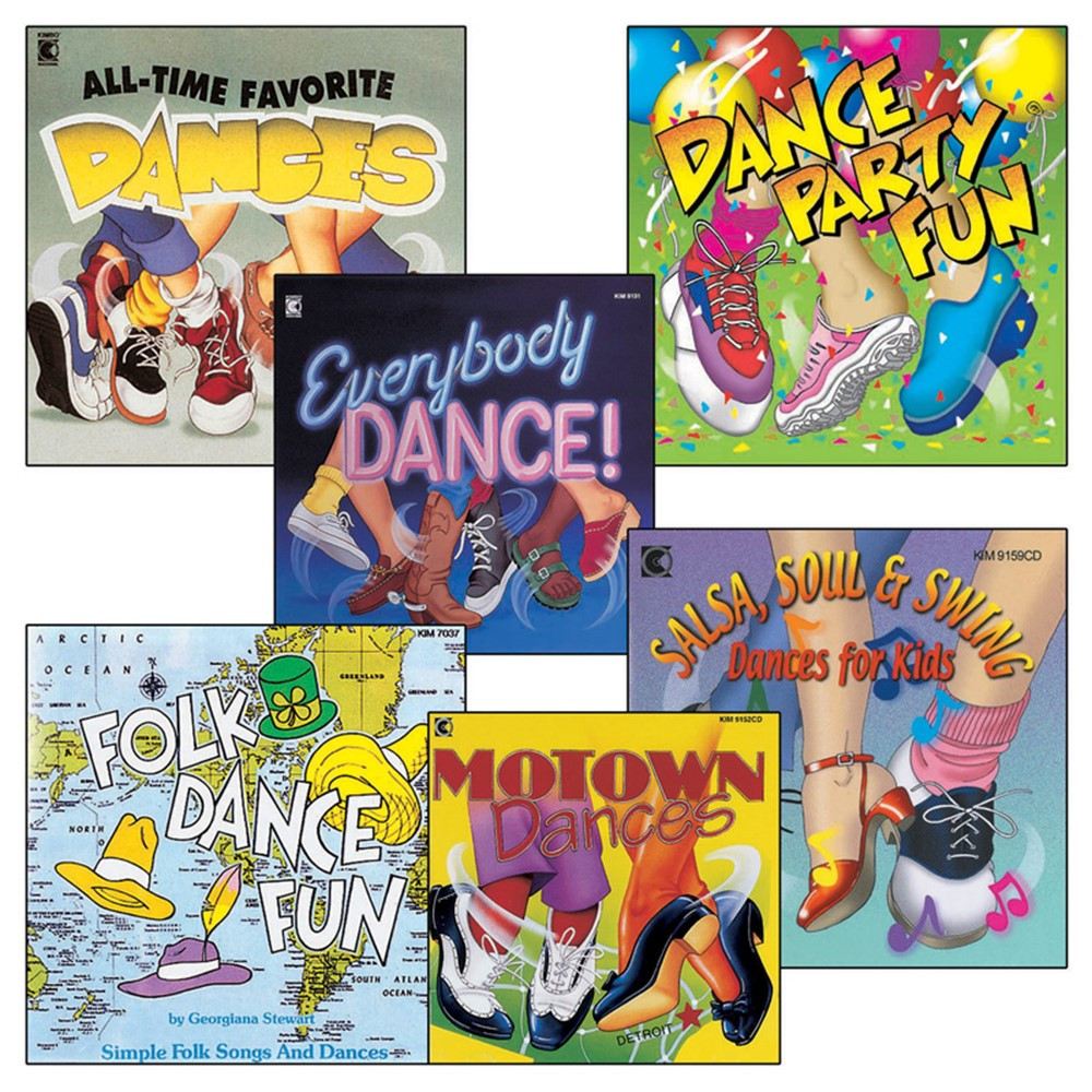 KIM02CD - Everybody Dance Cd Collection in Cds