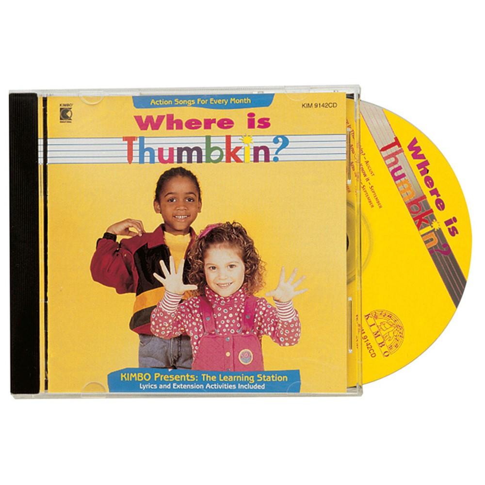 KIM9142CD - Where Is Thumbkin Cd in Cds