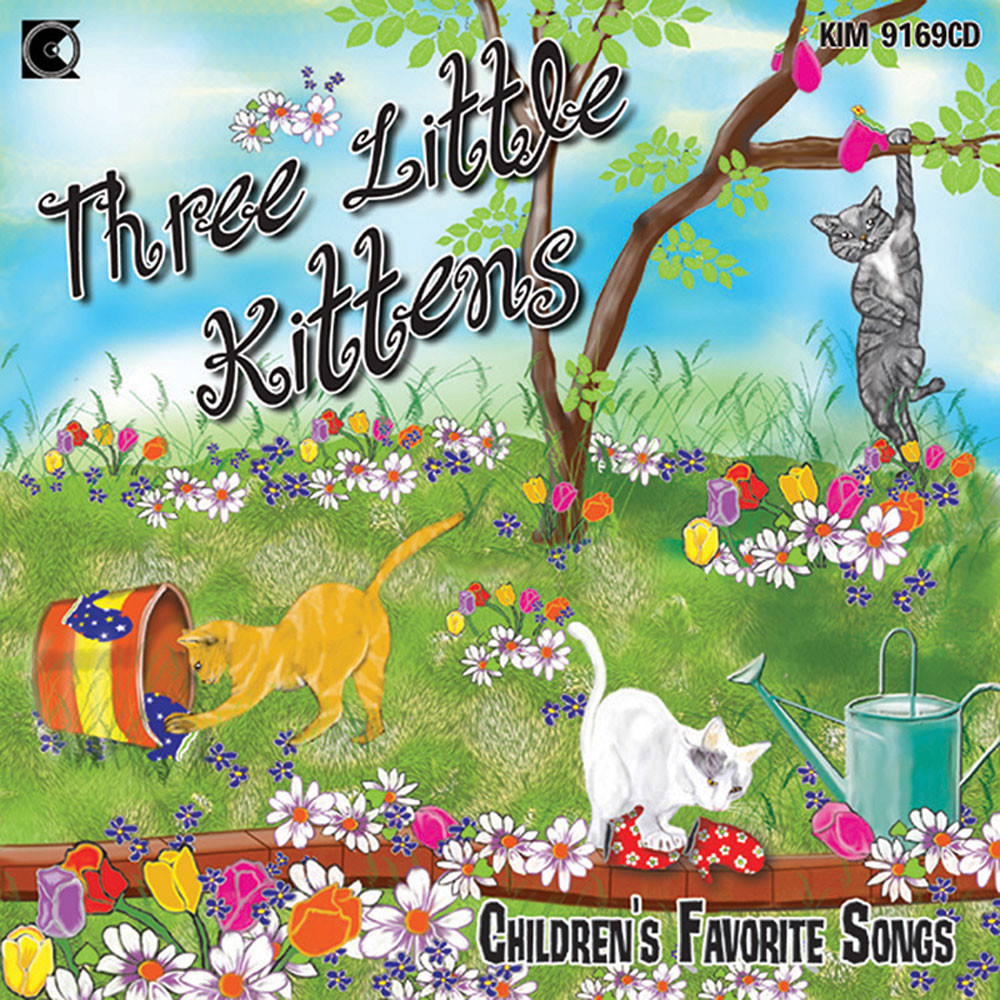 KIM9169CD - Three Silly Little Kittens Cd in Cds