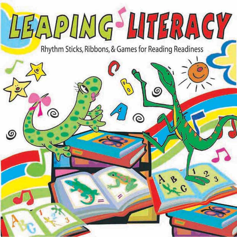 KIM9178CD - Leaping Literacy Rhythm Sticks Ribbons & Games Cd in Cds