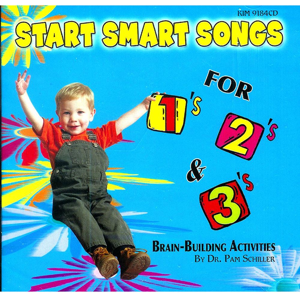 KIM9184CD - Start Smart Songs For 1S 2S & 3S Cd in Cds