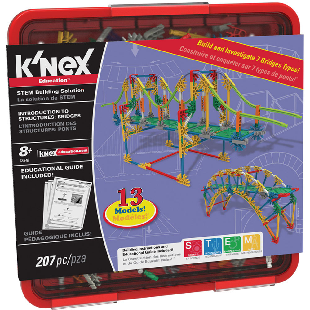 KNX78640 - Knex Bridges in Activity Books & Kits