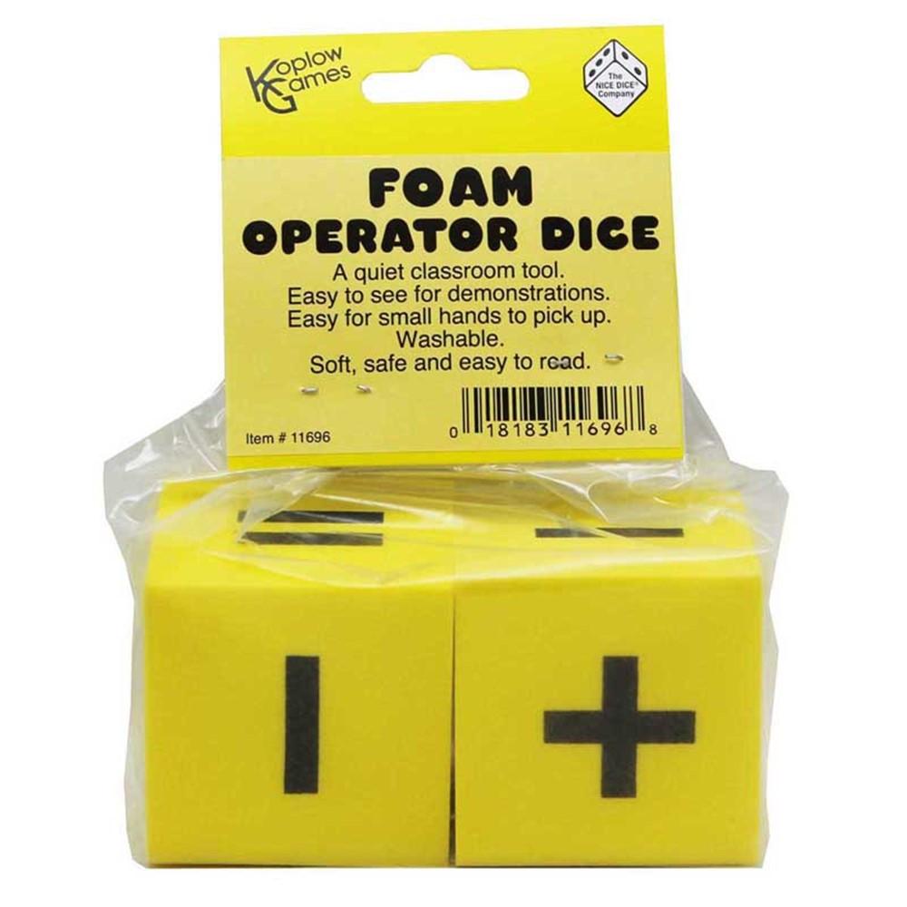 KOP11696 - Foam Dice 2 Operator Set Of 2 in Dice