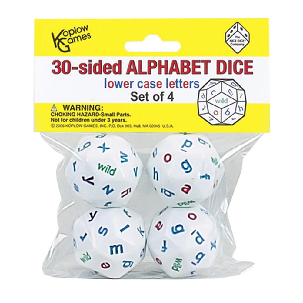 KOP12985 - Alphabet Dice 4 Colors in Dice