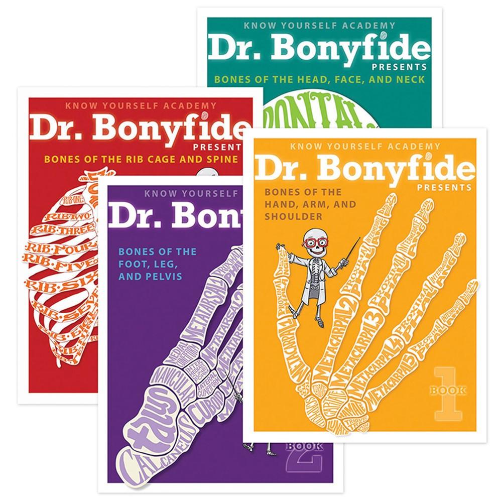 KWYDRB4BB - 206 Bones Of The Human Body 4 Book Set Dr Bonyfide in Human Anatomy