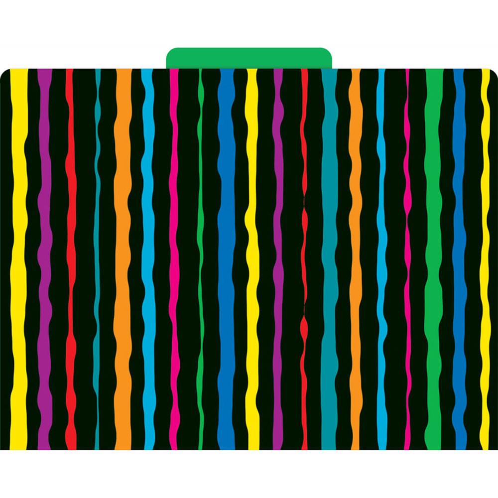 LAS1315F - Neon Stripes Functional File Folder in Folders