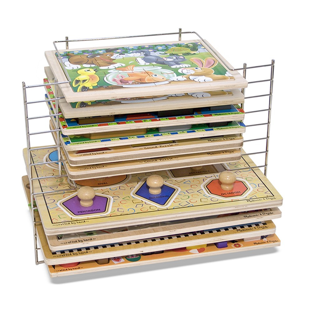 LCI1525 - Deluxe Wire Puzzle Rack in Wooden Puzzles