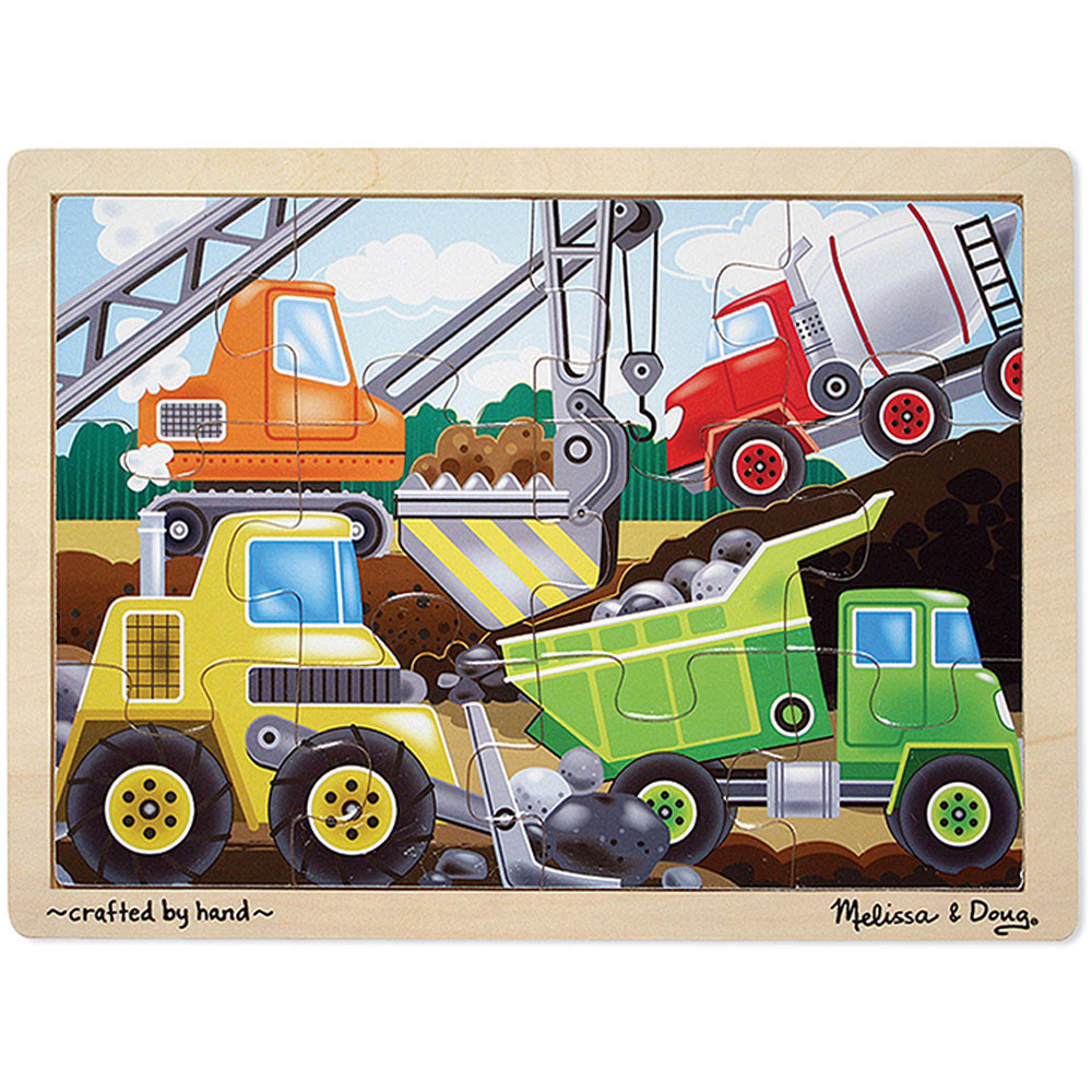 LCI2933 - Wooden Jigsaw Puzzles Construction in Wooden Puzzles