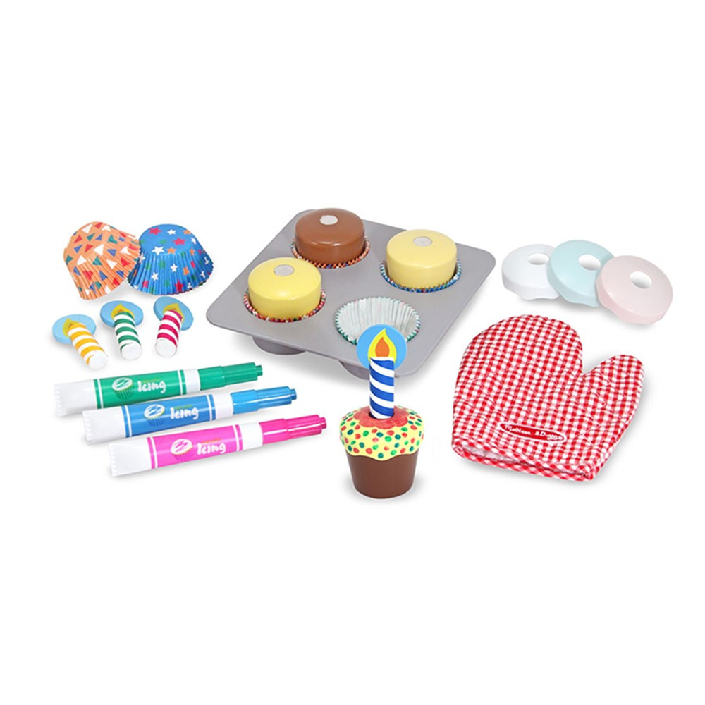 LCI4019 - Bake & Decorate Cupcake Set in Play Food