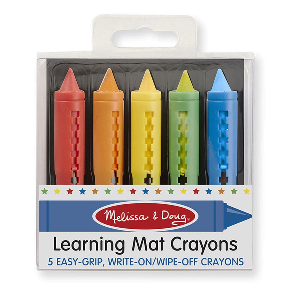 LCI4279 - Learning Mat Crayons in Crayons