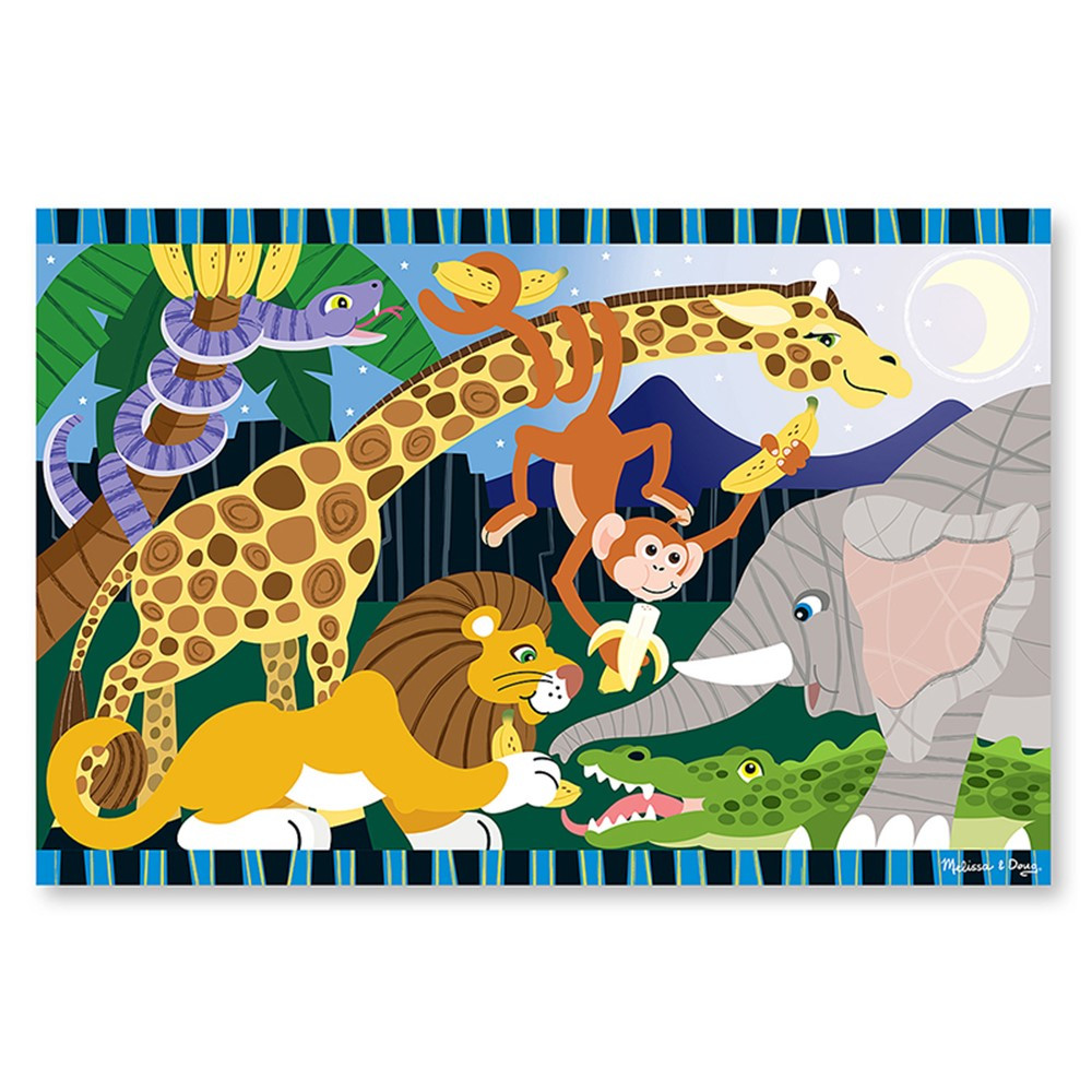 LCI4423 - Safari Social Floor Puzzle in Floor Puzzles