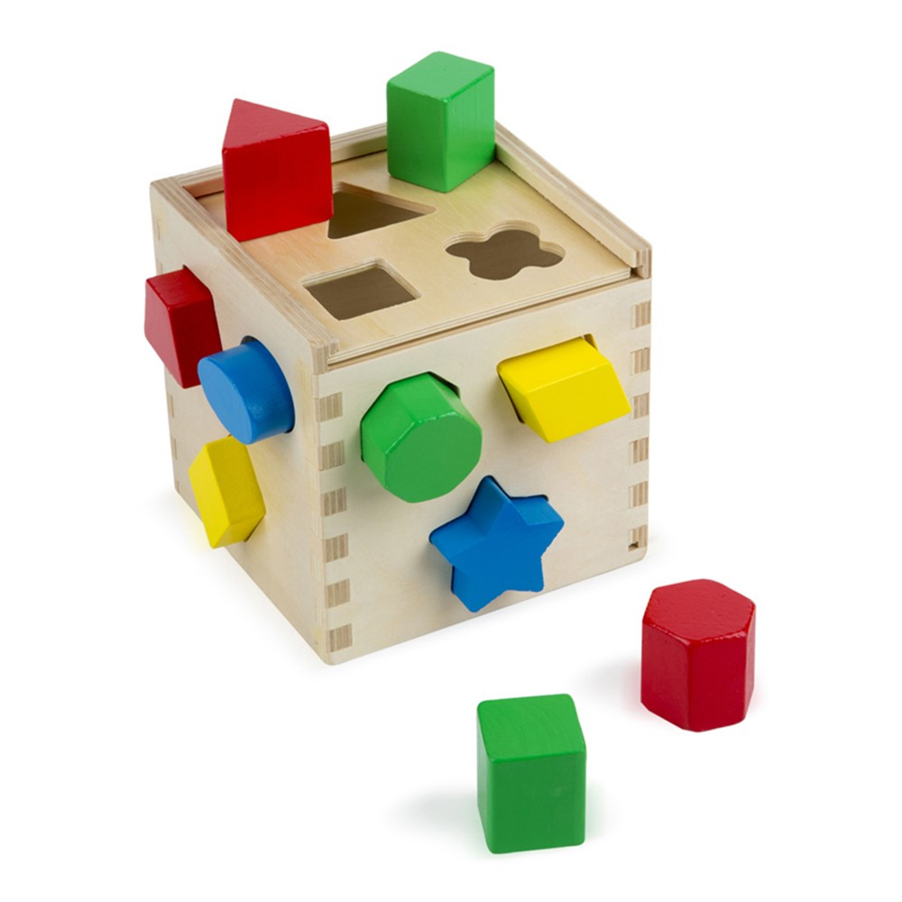 LCI575 - Shape Sorting Cube in Sorting