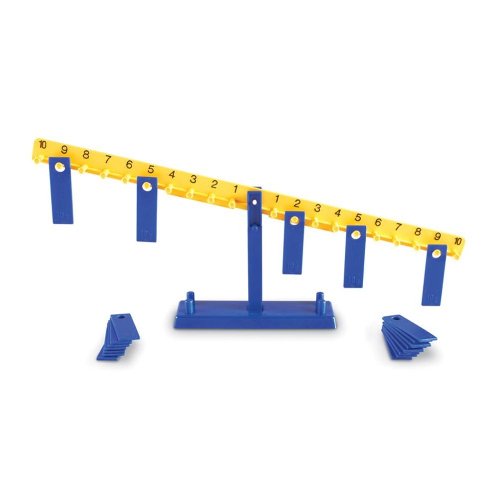 LER0100 - Math Balance 8-1/2T 20 10G Weights in Money