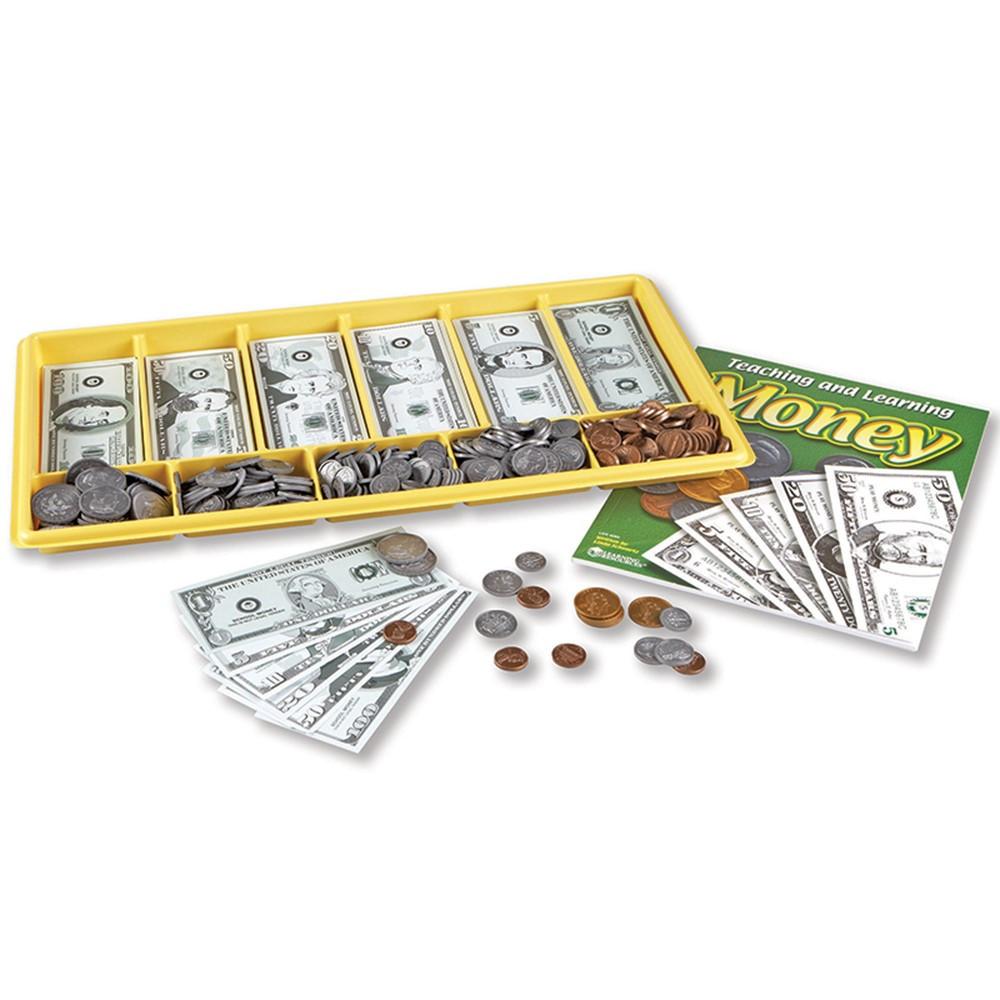 LER0106 - Giant Classroom Money Kit Gr K & Up in Money