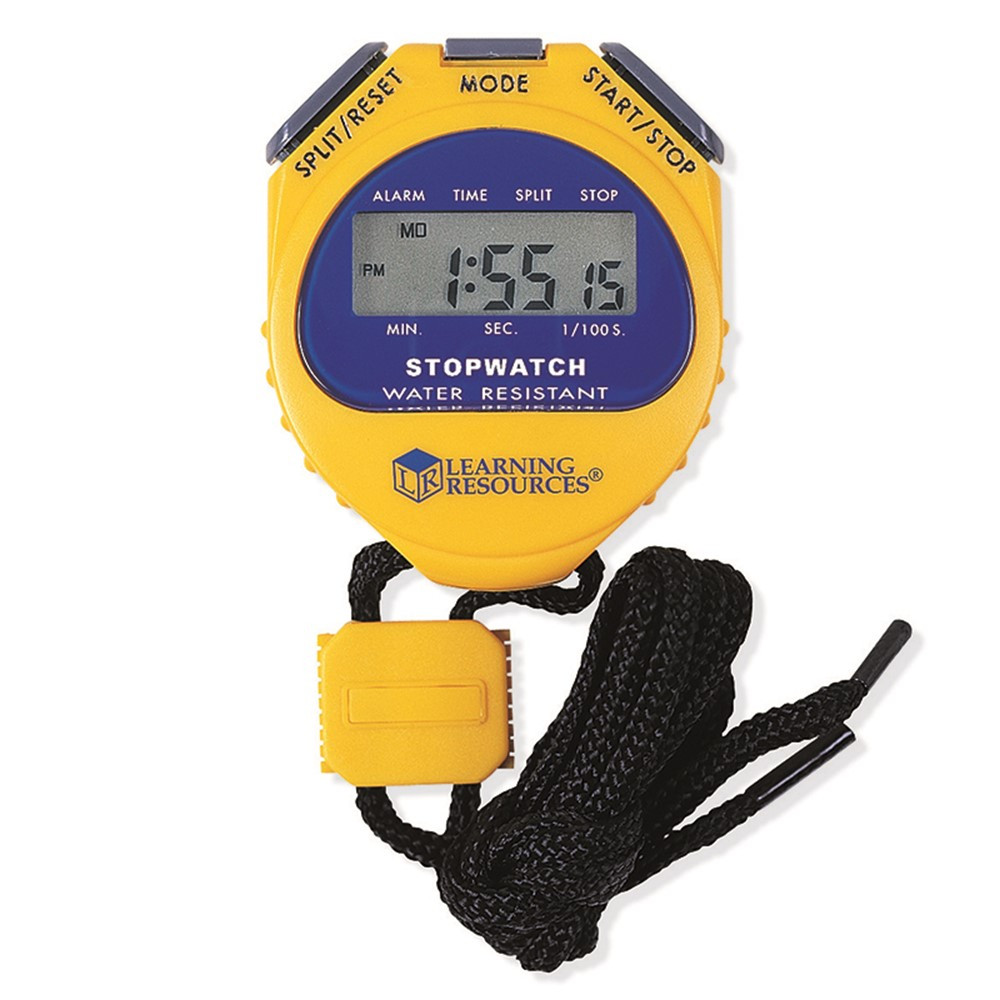 LER0525 - Big Digit Stopwatch .01 Second Incr in Timers