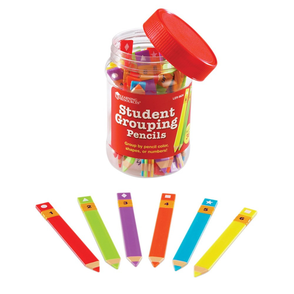 LER0624 - Student Grouping Pencils Set Of 36 in Pencils & Accessories