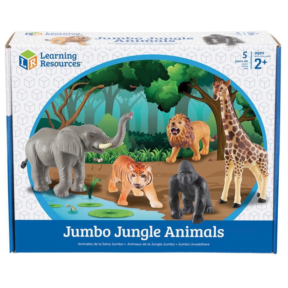 LER0693 - Jumbo Jungle Animals in Animals