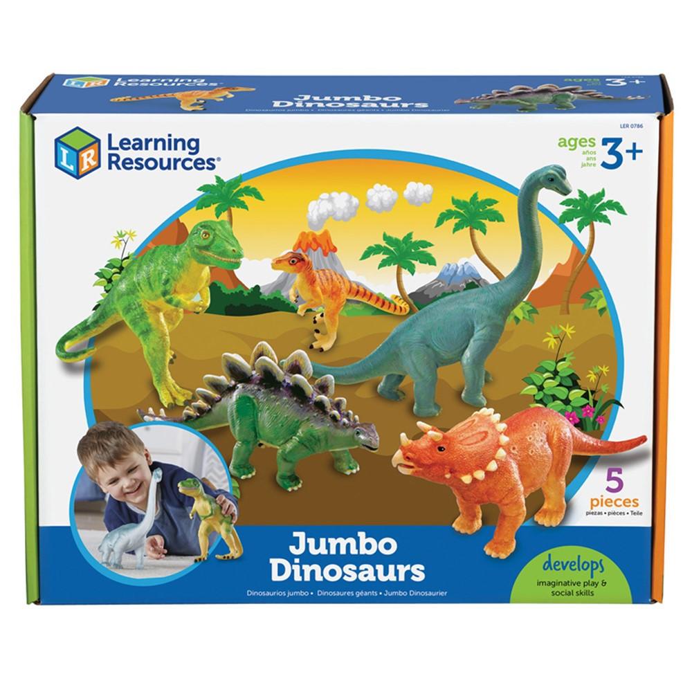 LER0786 - Jumbo Dinosaurs Set Of 5 in Animals