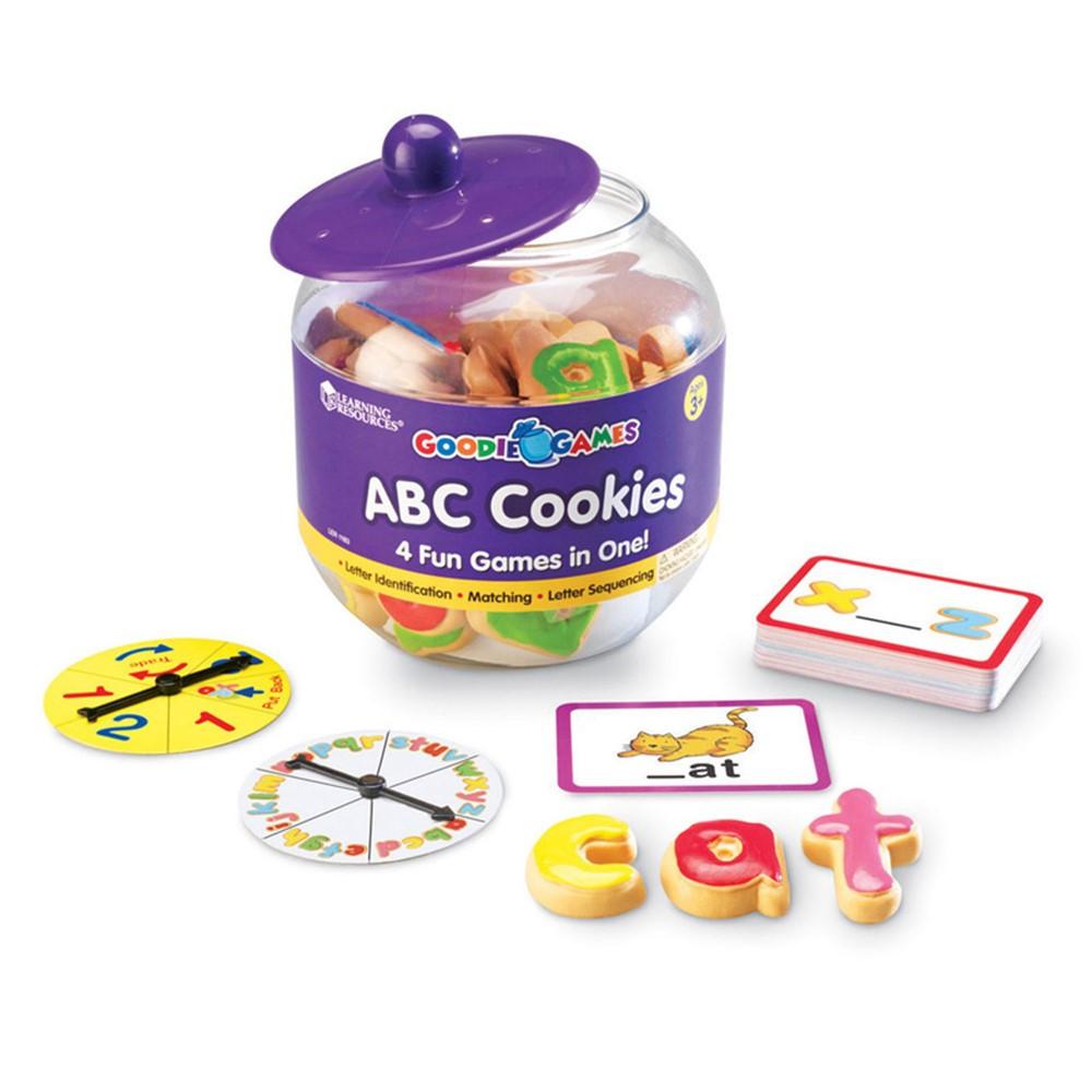 LER1183 - Goodie Games Abc Cookies in Language Arts