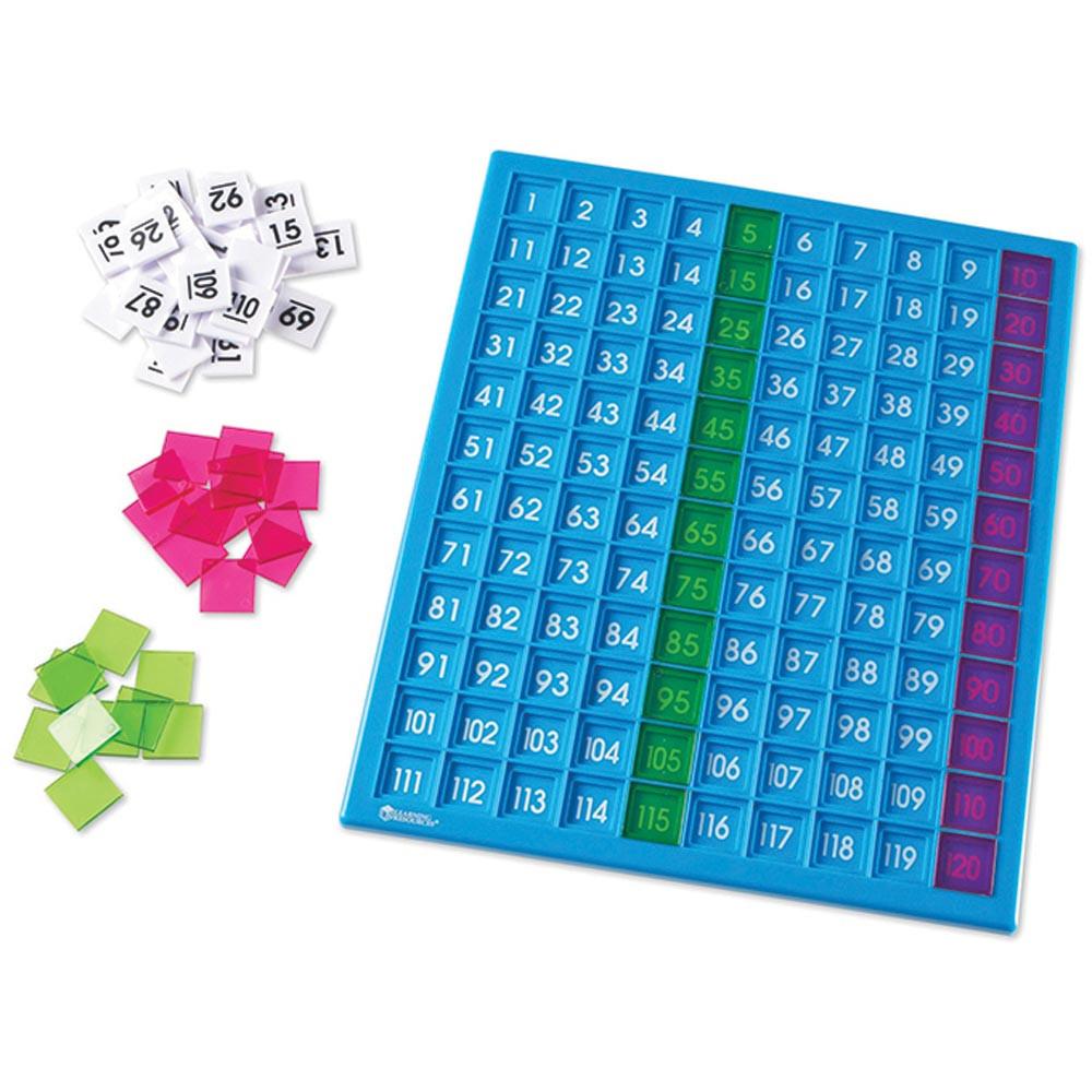 LER1332 - 120 Hundreds Board in Patterning