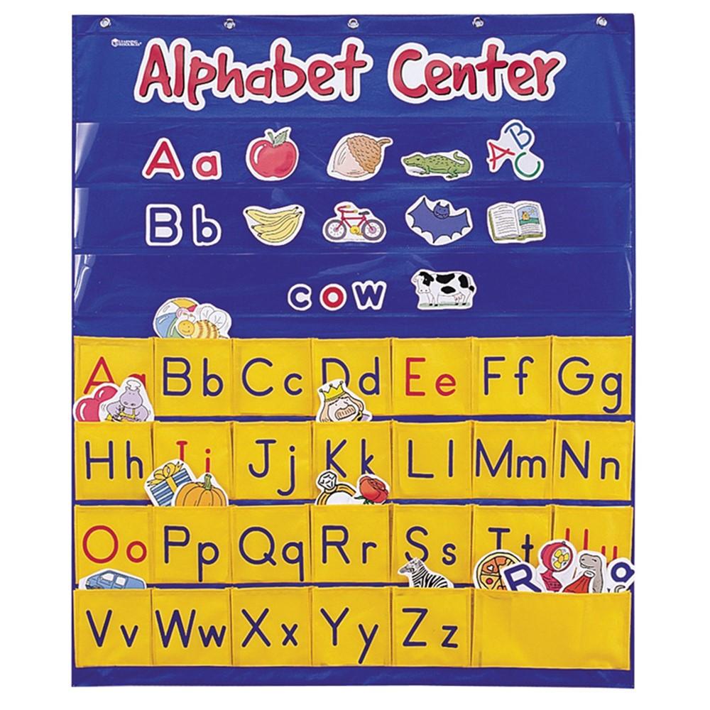LER2246 - Alphabet Interactive Pocket Chart in Pocket Charts