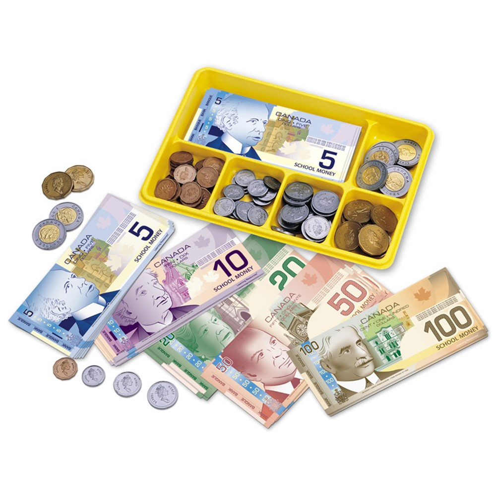 LER2335 - Canadian Currency X-Change Activity Set in Money