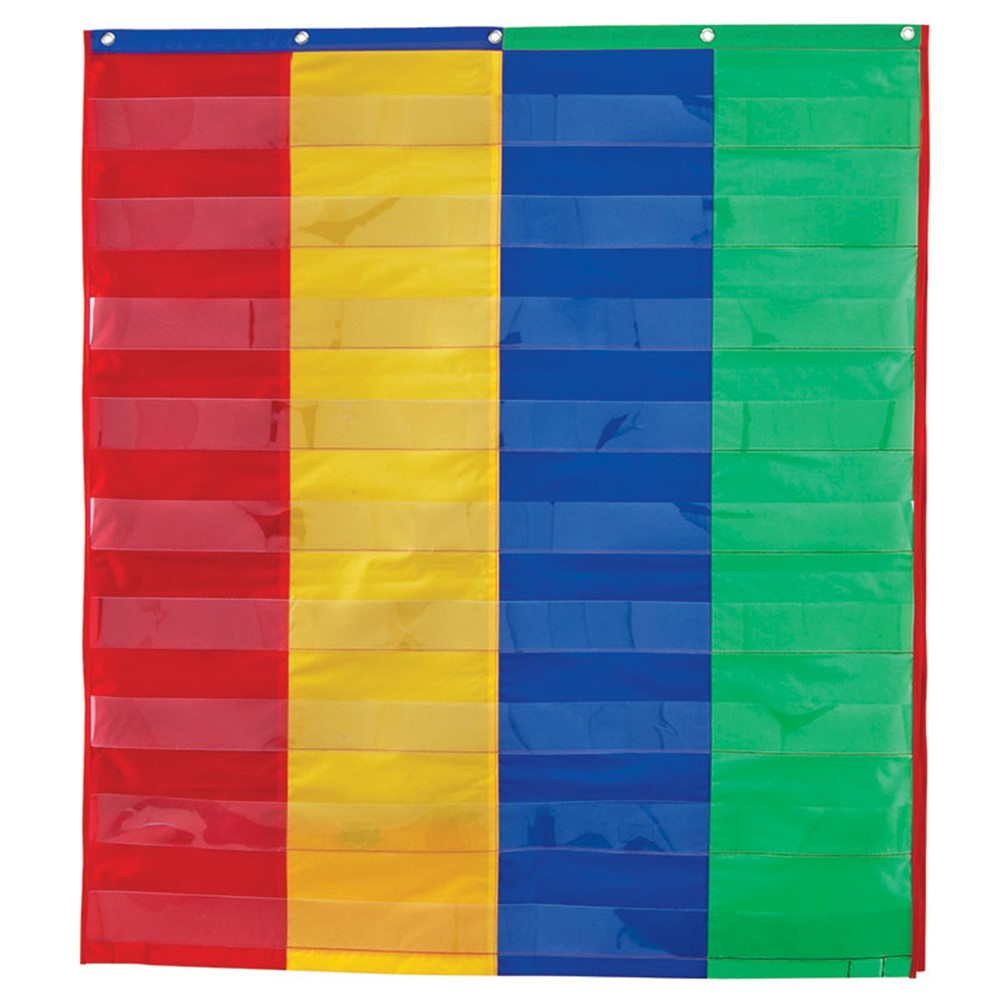 LER2382 - 2 And 4 Column Double-Sided Pocket Chart in Pocket Charts