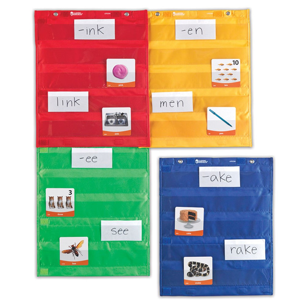 LER2384 - Magnetic Pocket Chart Squares in Pocket Charts