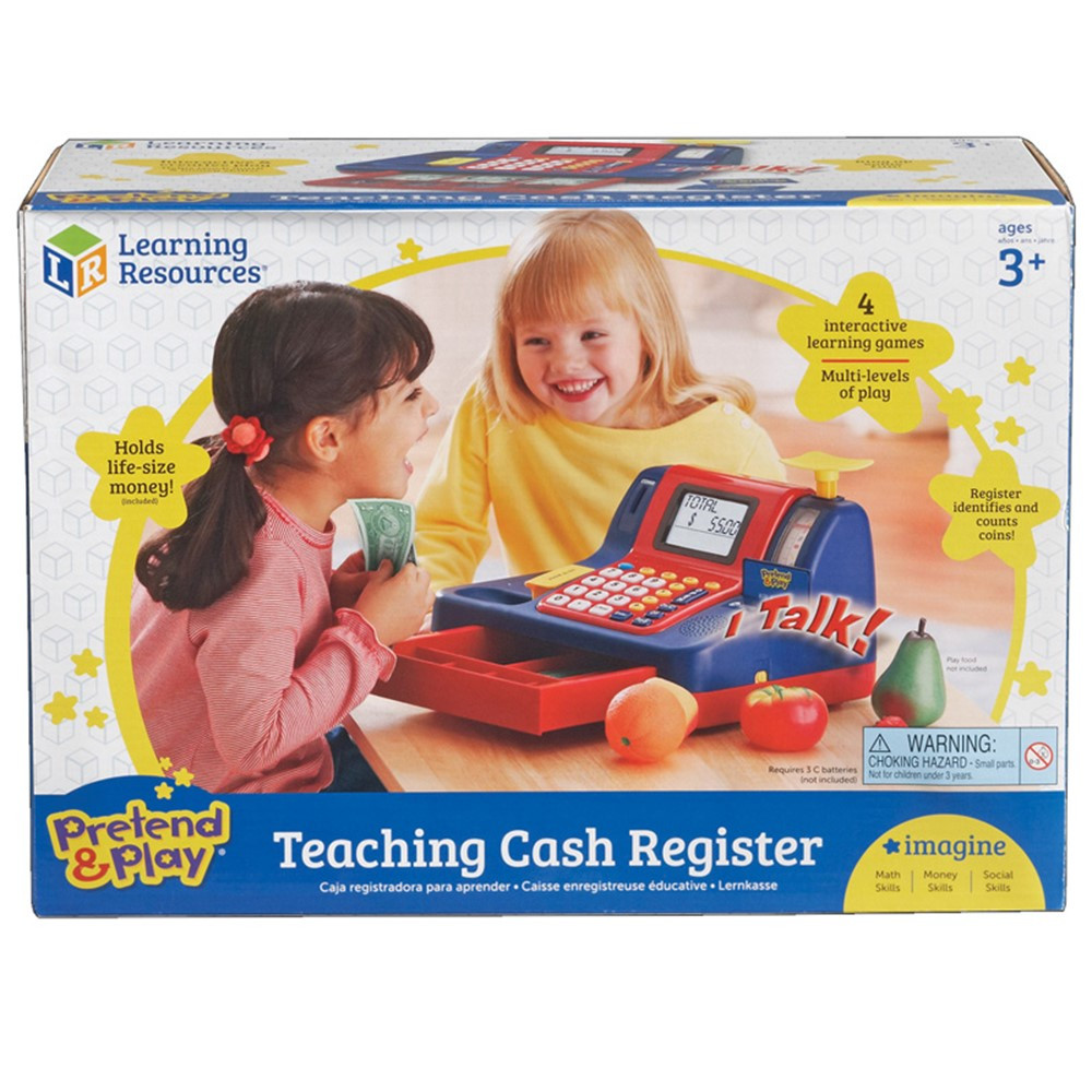 LER2690 - Teaching Cash Register in Shopping