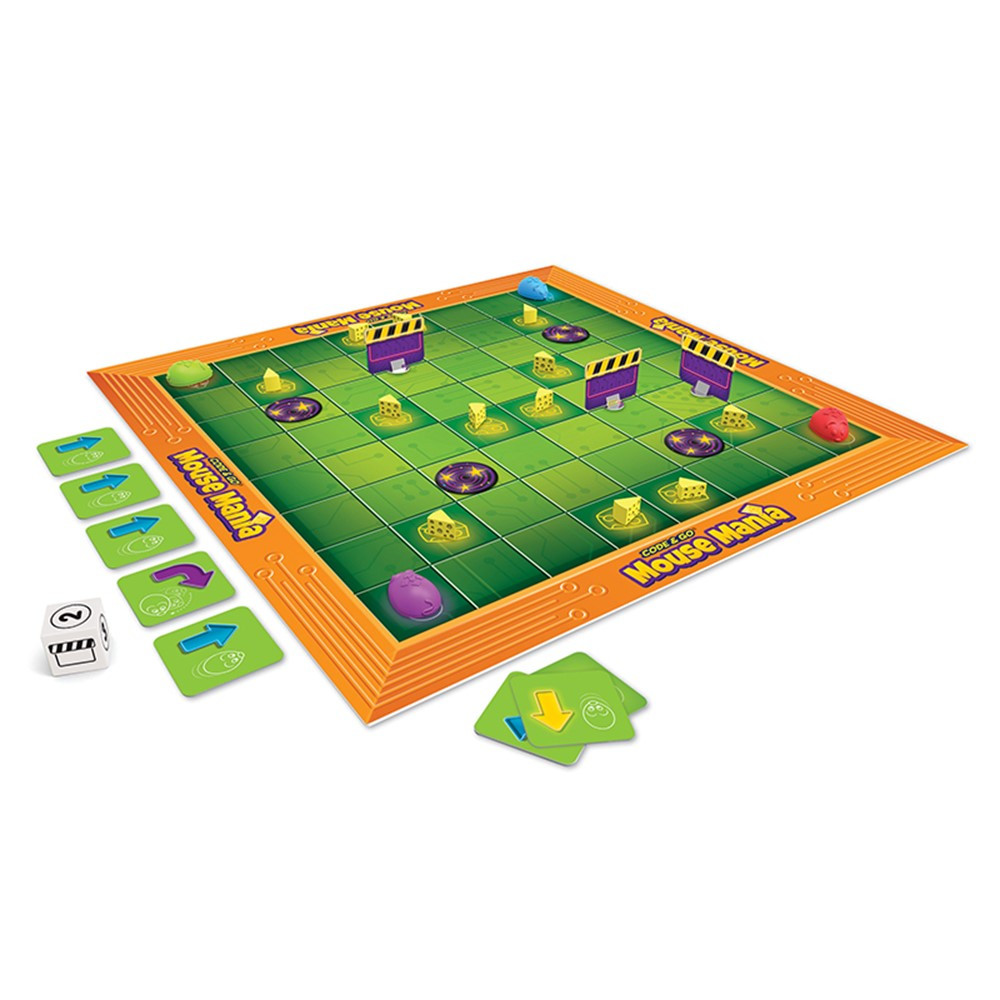 LER2863 - Code And Go Mouse Mania Board Game in Games & Activities