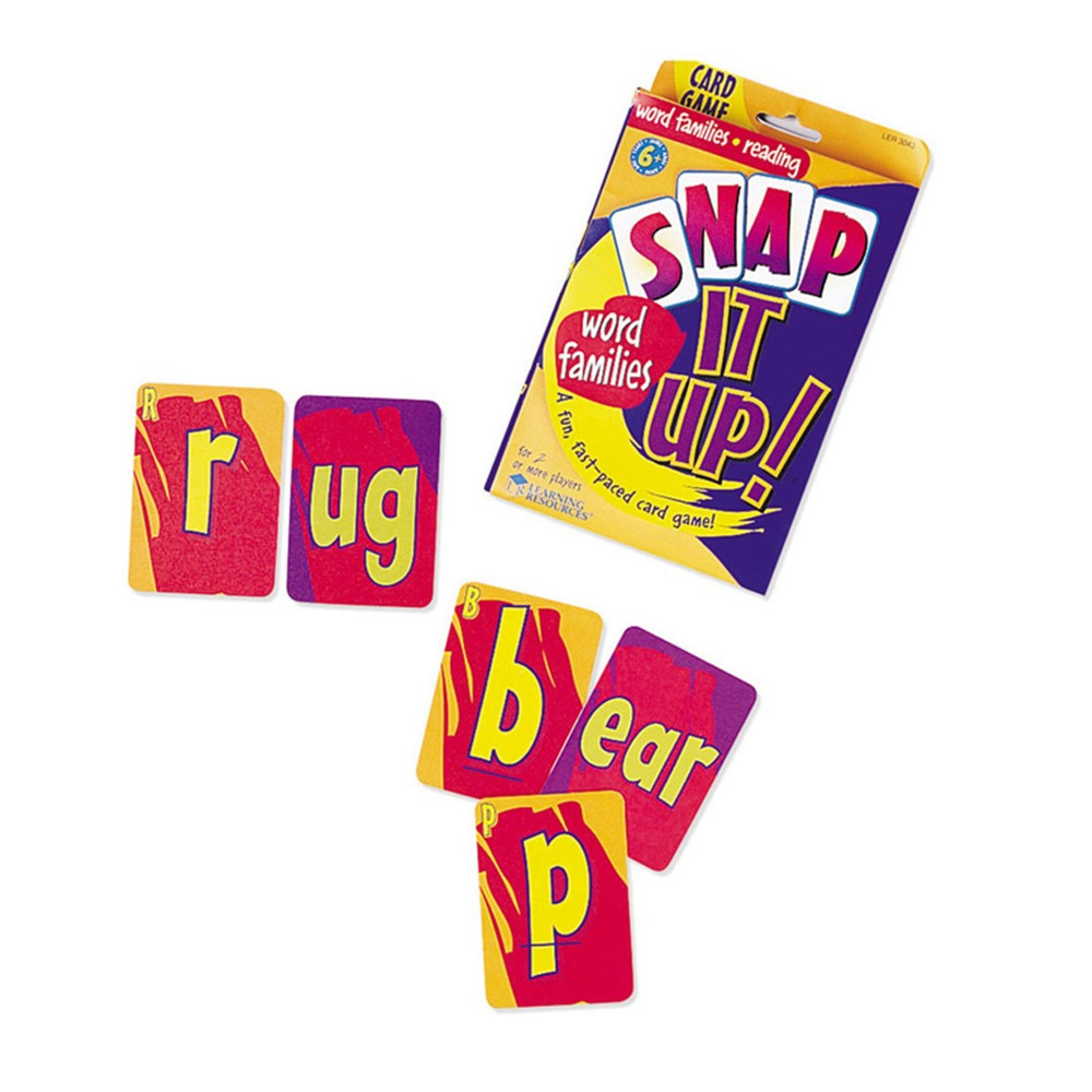 LER3043 - Snap It Up Phonics & Reading Snap It Up Phonics & Reading in Spelling Skills