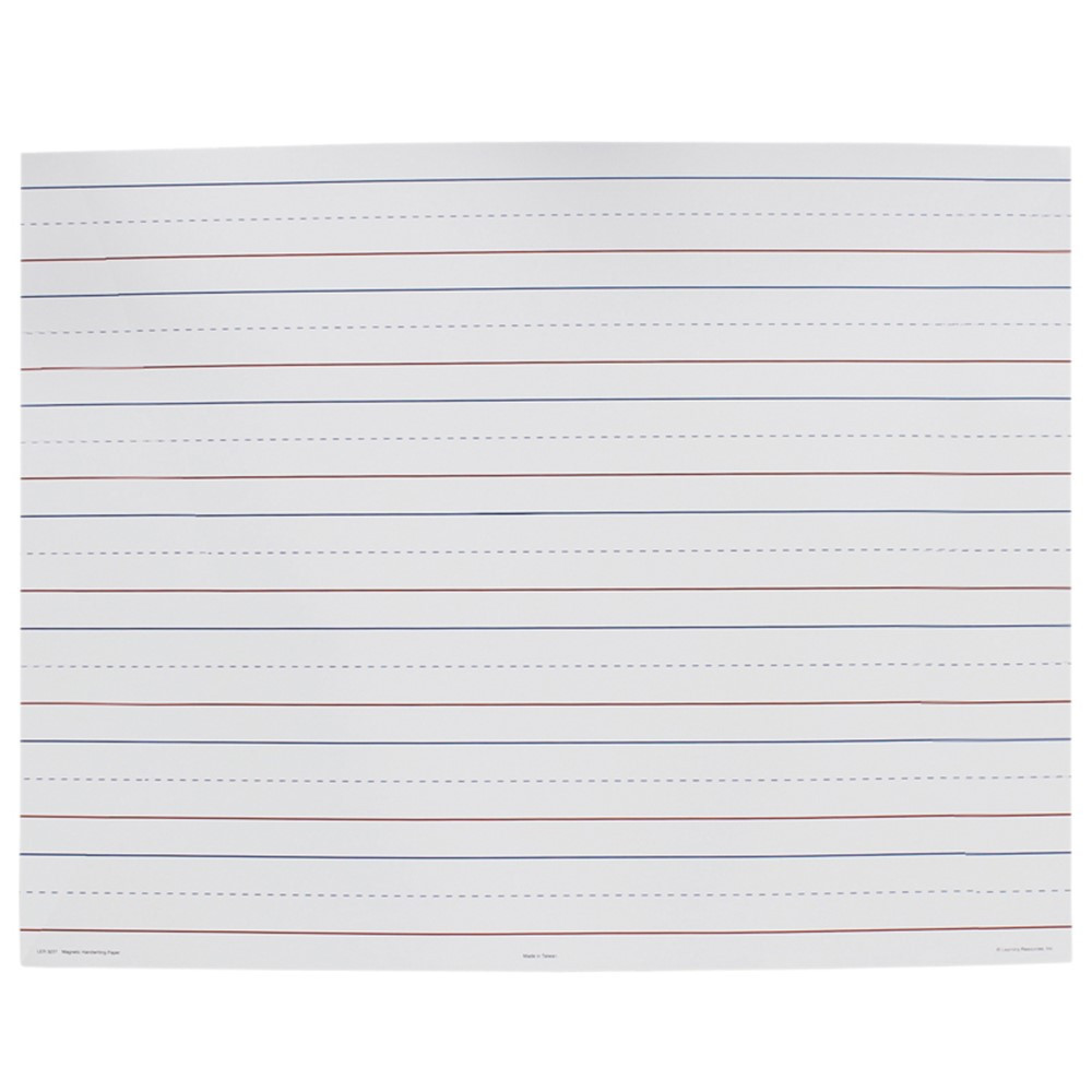 LER3237 - Paper Magnetic Handwriting in Dry Erase Sheets