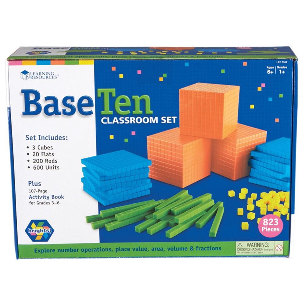 LER3552 - Base Ten Class Set Brights in Base Ten