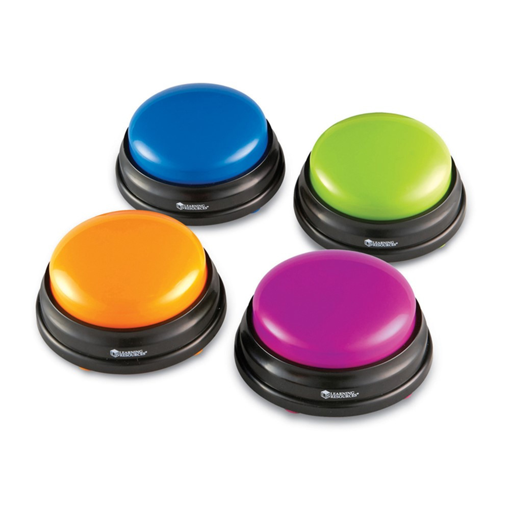 LER3774 - Answer Buzzers Set Of 4 in Games