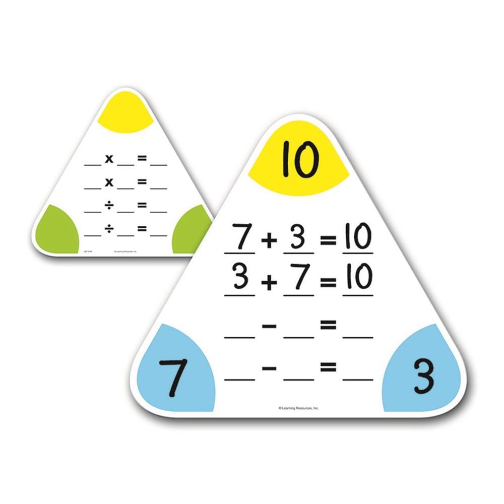 LER3799 - Write & Wipe Fact Family Boards in Dry Erase Boards