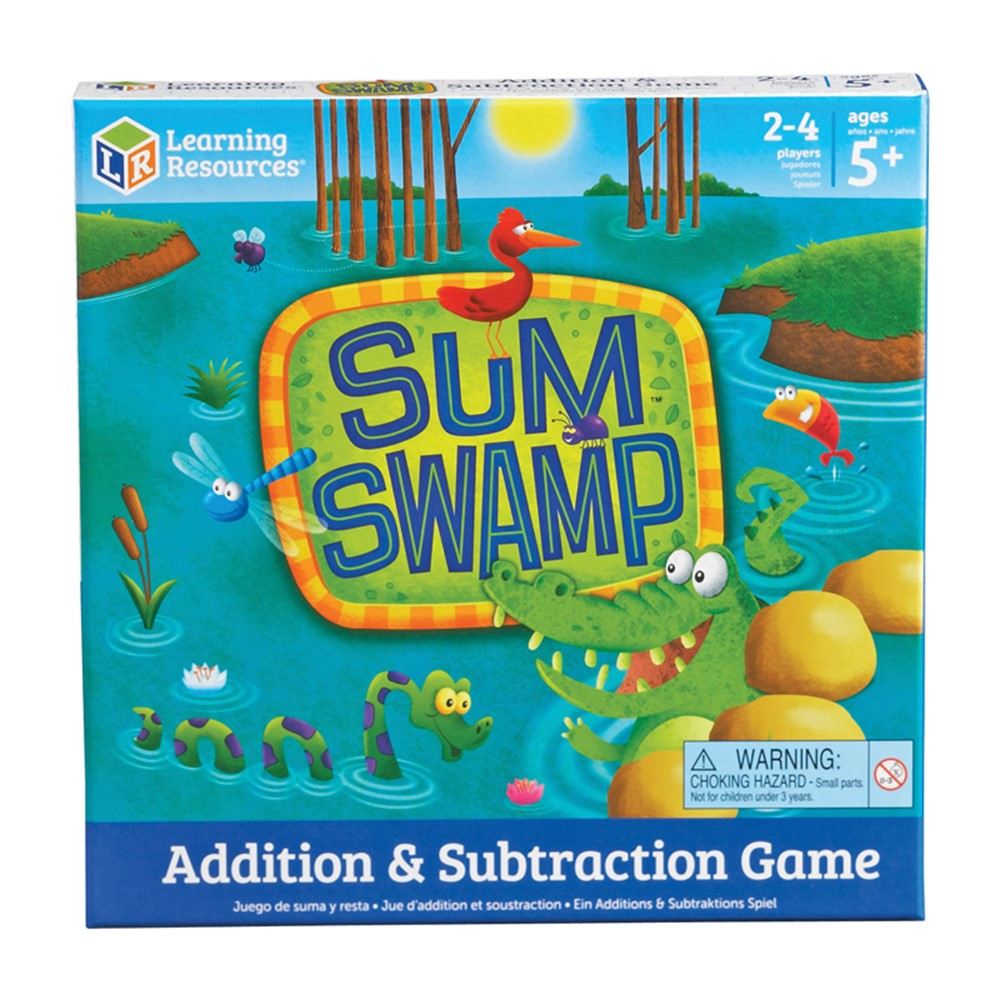 Sum Swamp Gr Pk & Up Addition & Subtraction - LER5052 | Learning ...