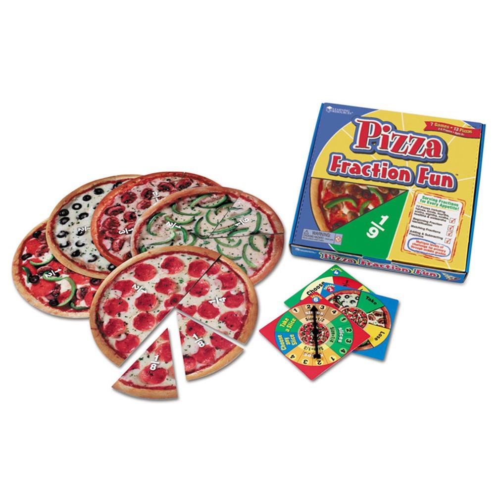 LER5060 - Pizza Fraction Fun Game in Math