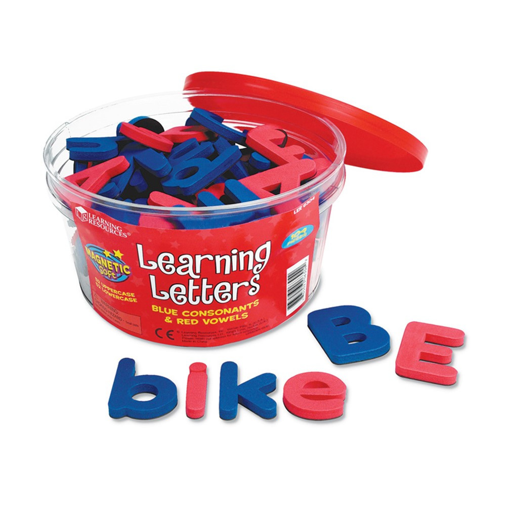 LER6304 - Magnetic Learning Letters in Magnetic Letters