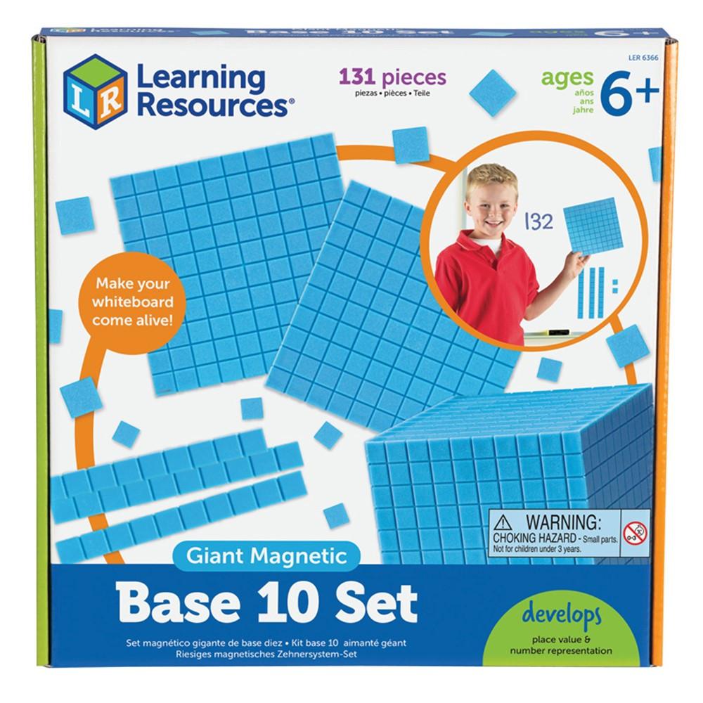 LER6366 - Giant Magnetic Base Ten Set in Base Ten